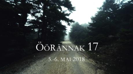 Öörännak 5.-6. mai 2018